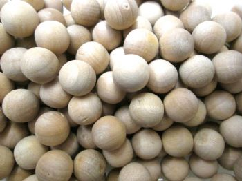 Wood Balls  10mm 14mm 25mm 30mm Choice of size